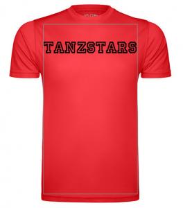 Selbst gestaltetes Tanzstars T-Shirt